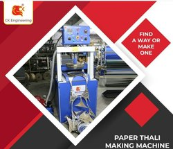 Hydraulic Auto Thali & Dona Making Machine