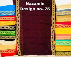 DESIGN 75 Nazamin Dupatta with Moti