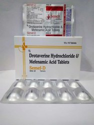 Mefenamic Acid 250mg Drotaverine Hcl 80mg Tablet
