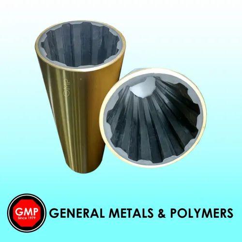 Metal shell Cutlass Rubber Bearing without flange