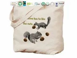 Biodegradable Cotton Nut Bag