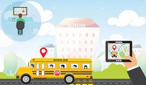 Wired School Bus Tracking Device