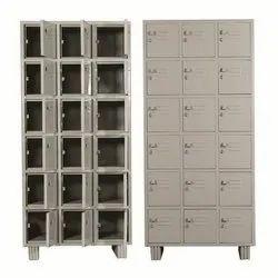 Mild Steel MS Industrial Locker, Model Name/Number: Asi 108, Size: 78*36*19 Inch