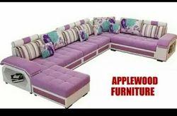 Applewood U Shape Designer Sofa Set