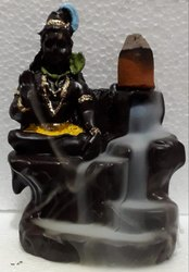 Lord Shiva Smoke Fountain Incense Burner Backflow Incense Idol Gift Item Gift Item