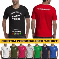 Micropolyster Polyester T Shirt Printing Service, For Personalized, Size: 34 To 44