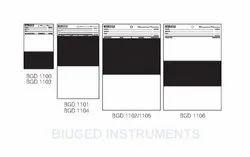 Opacity Charts - Half Black And Half White