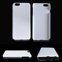 Plastic White Mobile Back Cover