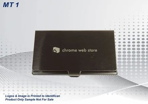 Metal Promotional Visiting Card Holder