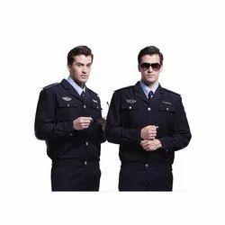Black Security Officer Uniform