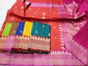Banarasi Silk Tusser Buti Saree, 6.3 M (with Blouse Piece)