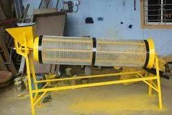Manual Rotary Sand Screening Machine