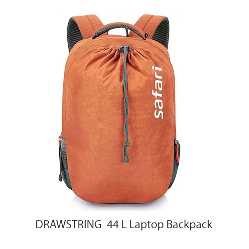 44 L Drawstring Safari Laptop Backpack