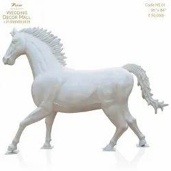 HE01 Fiberglass Horse