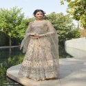 Celebrity Style Net Anarkali Suit