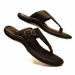 Mens Leather Flip Flops, Size: 7-11