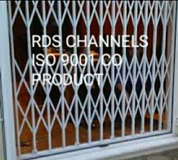 RDS ENTERPRISES Mild Steel Channel Gate, For Residential