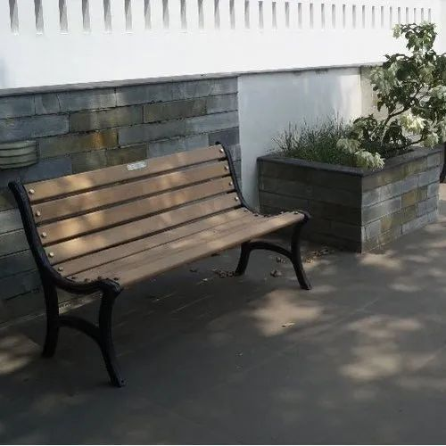 Red Oak Kitchen Table, Contemporary Cream Black Garden Outdoor Bench With Back Rs 15000 Unit Id 20688542162