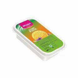纸矩形100ml冰淇淋容器贴纸,包装类型:卷