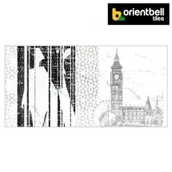 Orientbell OTF LONDON TOWER ART Decorative Wall Tiles