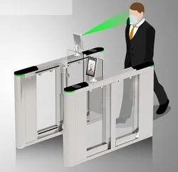 Flap Barrier with High Speed Contact Less Face Reader