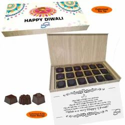 Merry Christmas Chocolates Gifts, Packaging Type: Box