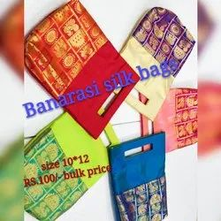 Silk  Thamboolam Bag