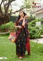 Cotton Ladies Stylish Saree With Blouse Piece