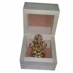 Ganpati Idol Wooden Box