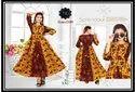 Rayon Designer Kurti Double Print