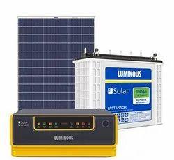 Luminous Solar Home Solution NXG1400 & 150Ah Solar Tubular Battery & 160W Poly Crys Module