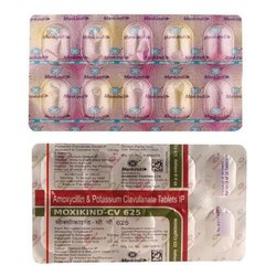 Amoxycillin and Potassium Clavulanate Tablets IP, Packaging Type: Strips