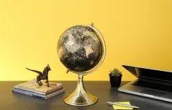 Cast Iron Globe