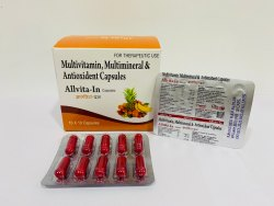 Multivitamins, Multi Mineral & Antioxidant Capsules