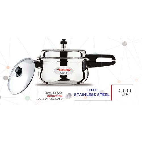 Butterfly Cute Stainless Steel Pressure Cookers