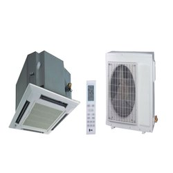 Brown Plastic Trane Cassette Air Conditioner, 3 Phase, Rotary