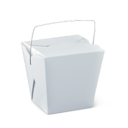 Detpak Wire Handle Food Pail