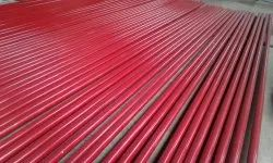 Color Coated Mild Steel Round Pipe