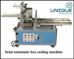 Semi Automatic Box Sealing Machine