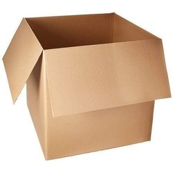 Single Wall - 3 Ply Brown Heavy Duty Corrugated Box, Box Capacity: 6-10 Kg