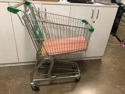 Four-Wheel Shopping Trolley