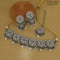Victorian Polish Ethnic Kundan Necklace Set