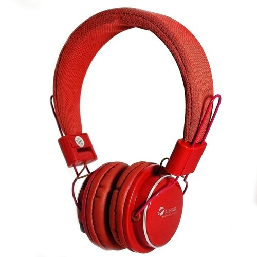 Alpino Neev Wireless 3.0  Bluetooth Red Headset with Mic