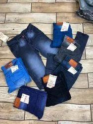 Kesari Exports Faded Men Slim Fit Jeans