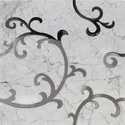Steel Laser Cut Motif For Inlay In Marble, Wood, Stone And More