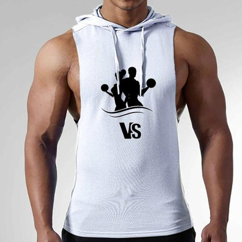 9d5d90cf973b0 Plain   Printed Cotton Custom Printed Men Sleeveless Hoodies