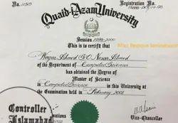 Spandan Paper Certificate Delamination Service