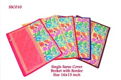 Single Saree Cover Broket With Border