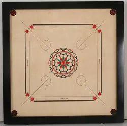 Wood Wooden Buy Carrom Board, Size: 32x32 Inch