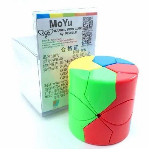 Plastic Moyu Barrel Redi Cube 3-D Puzzle